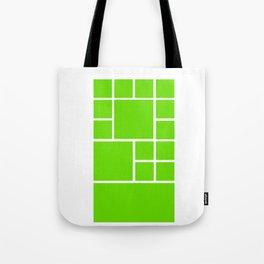 Windows Phone 8 Grid - Green Tote Bag