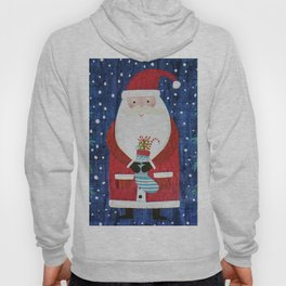 Santa with Stocking Hoody