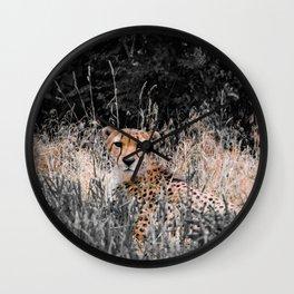 Cheetah Cheetah Wall Clock