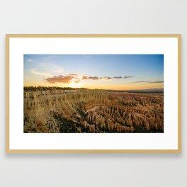 Bryce Canyon National Park - Utah Framed Art Print