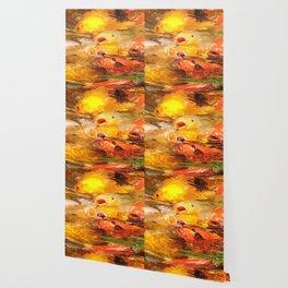 TEXTURES: Koi Swarm Wallpaper