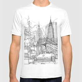 New York! B&W T-shirt