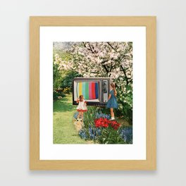 Kids These Days II Framed Art Print