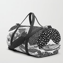 Hokusai - The Great Wave of Kanagawa Duffle Bag