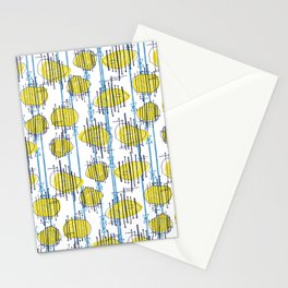 Spaceship Shapes Stationery Cards
