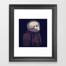 Spaceknight Skully Framed Art Print