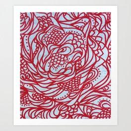 Rouge Art Print