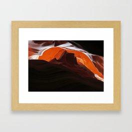 Red Mesa Framed Art Print