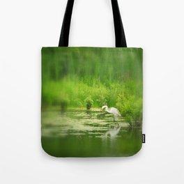 Marsh Egret 2 Tote Bag