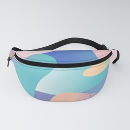 Pastel Camo Fanny Pack
