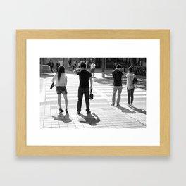 Minor Adjustments Framed Art Print