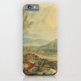 "J.M.W. Turner ""Lulworth Castle, Dorset"" iPhone Case"