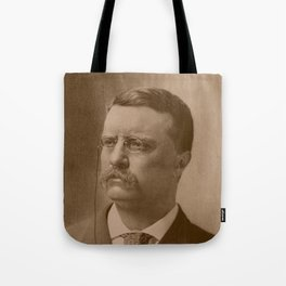 President Theodore Roosevelt Tote Bag