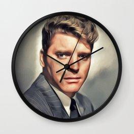 Burt Lancaster, Hollywood Legend Wall Clock