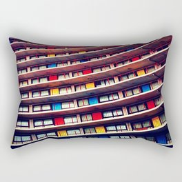 Day Forty-One: Primary Wave Rectangular Pillow