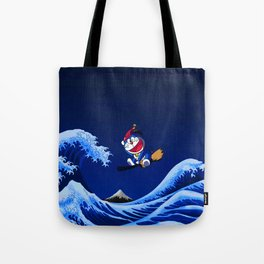 robot cat to the twenty-first century Tote Bag