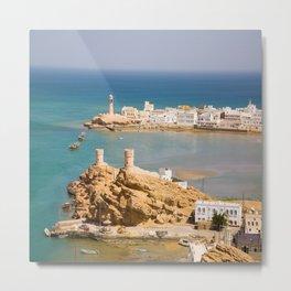 Sur Corniche Oman Metal Print