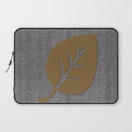 Giant Gold Leaf Laptop Sleeve