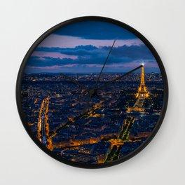 Paris 01 Wall Clock