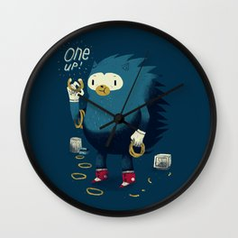 1 up! Wall Clock