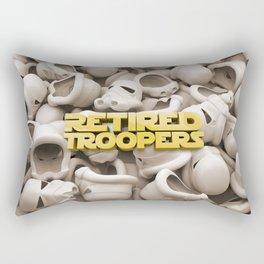Helmets Rectangular Pillow
