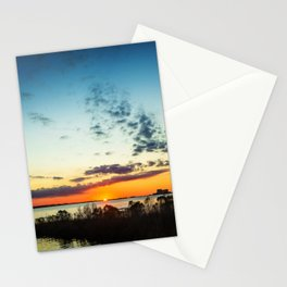 Gulf Coast Sunset Pano Stationery Cards