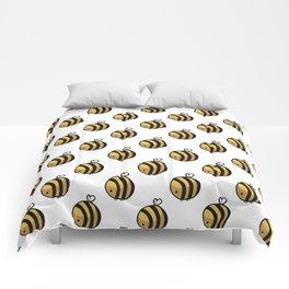 Bee Polka Dot Comforters