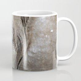 Eye of the elephant, Africa wildlife Coffee Mug