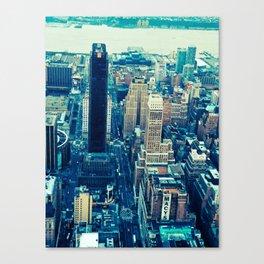 NEW YORK//COLOUR *2 Canvas Print