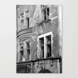 Krepostnaya Street Ruins Canvas Print