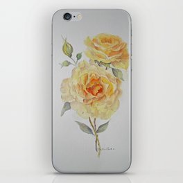 One rose or two iPhone Skin