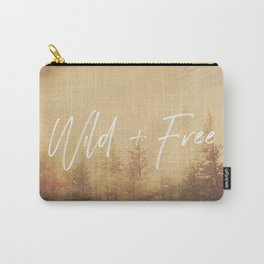 Wild And Free - Cascadia Forest Carry-All Pouch