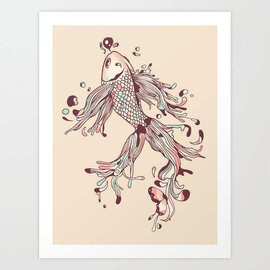 Flowing Life Art Print
