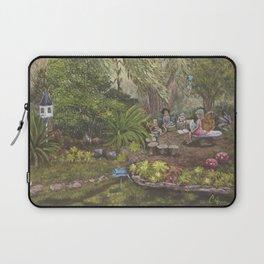 Faerie Garden Letters Laptop Sleeve