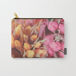 Tulips rétro Carry-All Pouch