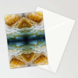 Abstract Mineral Crystal Texture Stationery Cards