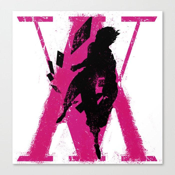 hunter x hunter hisoka canvas print by kurapiko society6