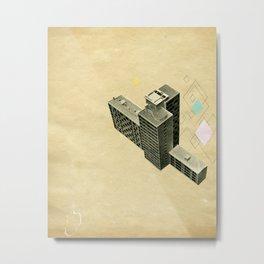 The Modern World Metal Print
