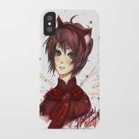 prince iPhone & iPod Cases featuring Prince by MilkNCreams