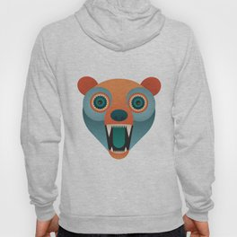 Geometric Bear Hoody