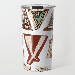 Tee-Pee Travel Mug