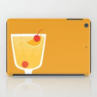 alcohol iPad Cases featuring Whiskey Sour - Alcohol by Stacia Elizabeth