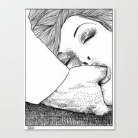 apollonia Canvas Prints featuring asc 28 - L'invitation by From Apollonia with Love
