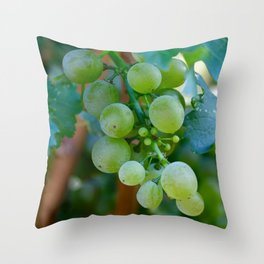 Sprig of Grapes Throw Pillow