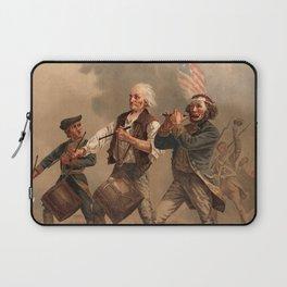 The Spirit of '76 aka Yankee Doodle by Archibald Willard (c 1876) Laptop Sleeve