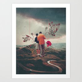 Chances & Changes Art Print