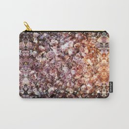 Amethyst Geode Up Close Carry-All Pouch