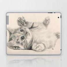 Rub my belly... Laptop & iPad Skin