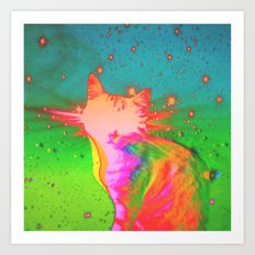 In Ghost Colours. Art Print