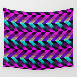 Dark Purple Wall Tapestry